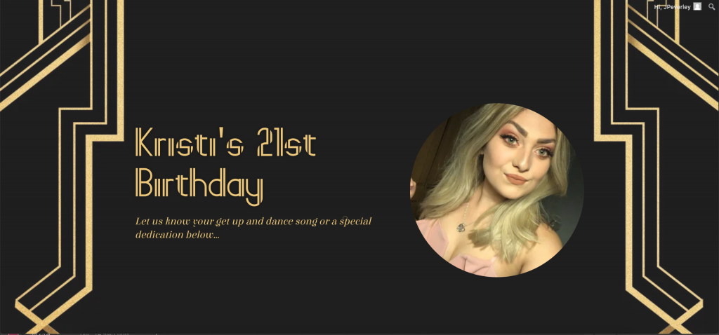 Kristi's 21st Birthday